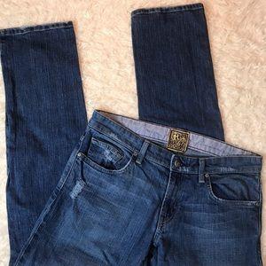 Rich & Skinny Straight Leg Jeans